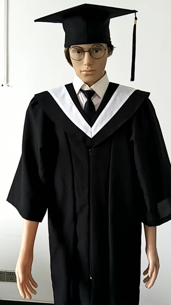 Taiwan Style Premium Quality Baccalaureate Graduation Gown ...