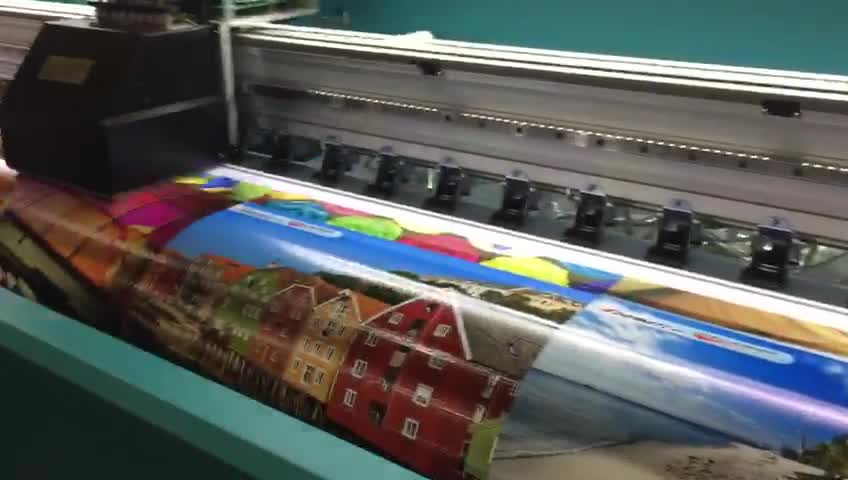 Printing machine for tarpaulin/Digital printing machine for stickers