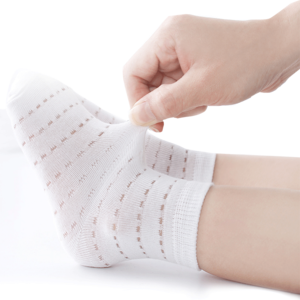 六指鼠春秋纯棉宝宝网眼袜儿童袜子