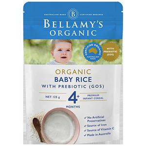 贝拉米有机婴幼儿益生元GOS高铁米粉