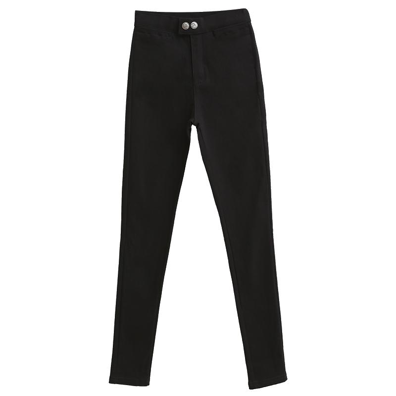 【冬朵】加绒可选休闲裤小脚裤魔术裤