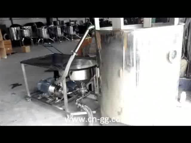 Customized High efficiency coconut milk and additive powder mixing machine