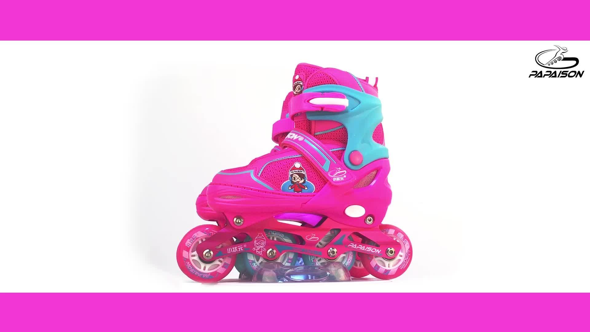 בנות מתנת צעצוע חשמלי גלגלים inline גלגיליות נעלי מקורה החלקה חיצונית