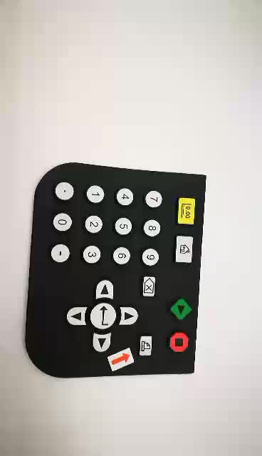 Shanben Numeric Silicone Rubber Membrane Switch Made In ...