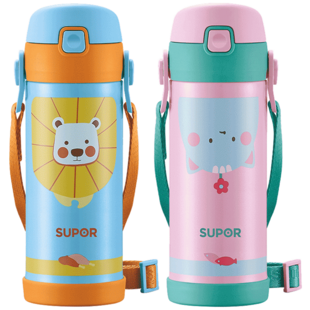 [SUPOR] children's insulated stainless steel pipette and water proof cup.