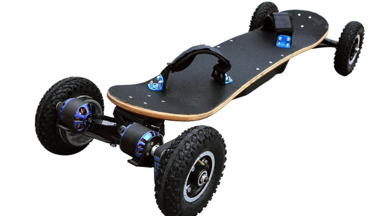 Newest Vehicle 4 Wheels Overland Electric Skateboard Remote Controll 3000w  Buy Overland