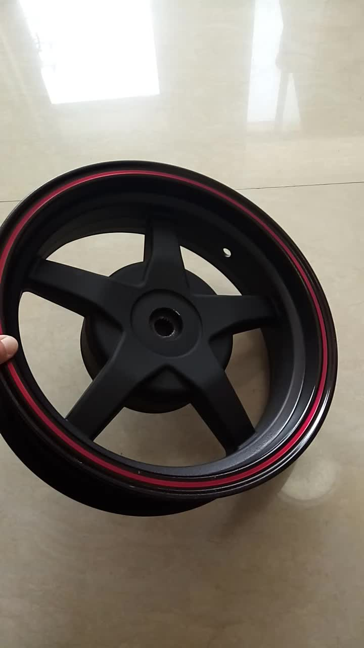 3.5 - 12 inch motorcycle alloy wheel rims with drum brake