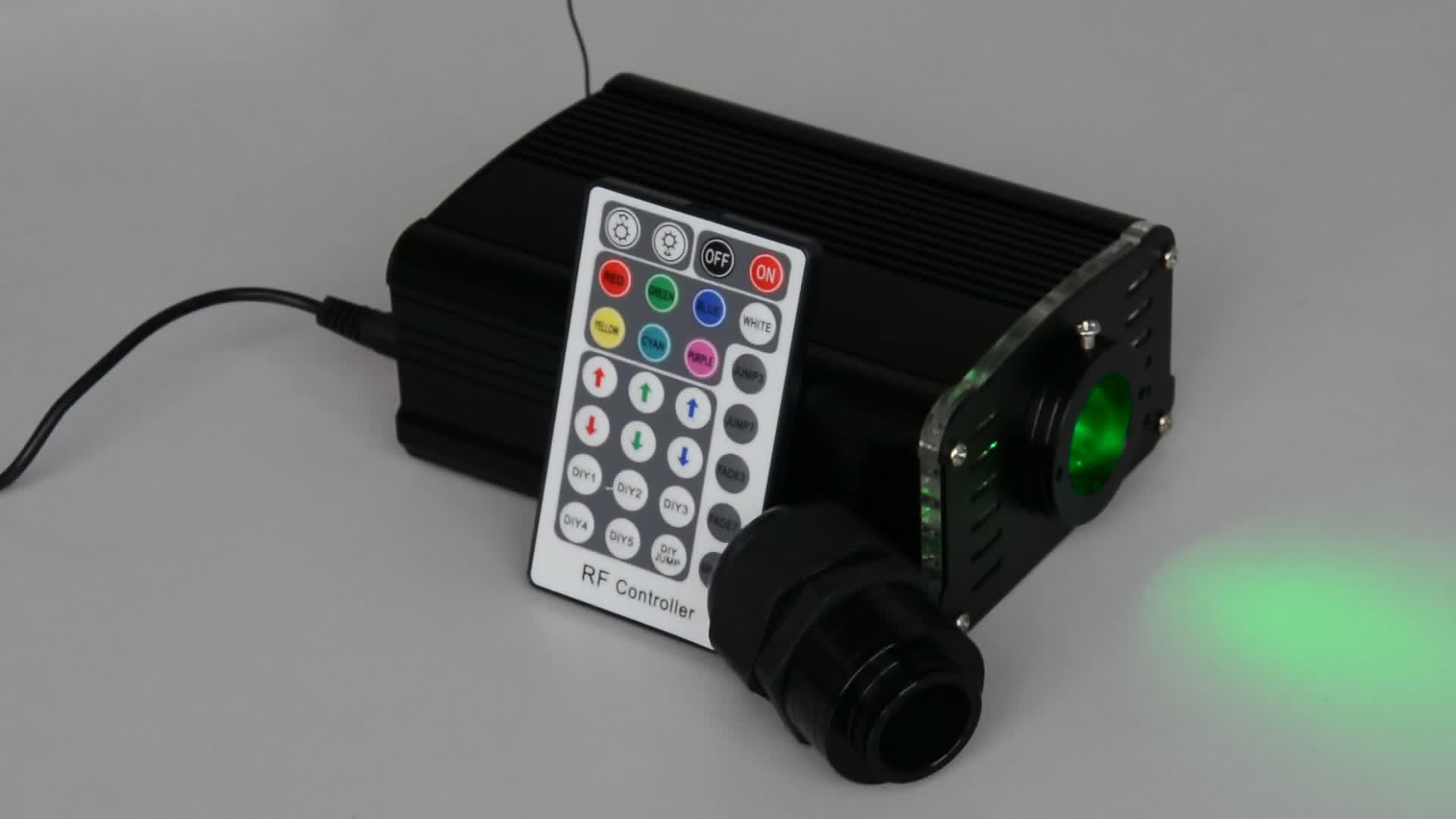 Noel ve Tatil Kullanım Uzaktan Kumanda ile Fiber Optik Işık Dekorasyon