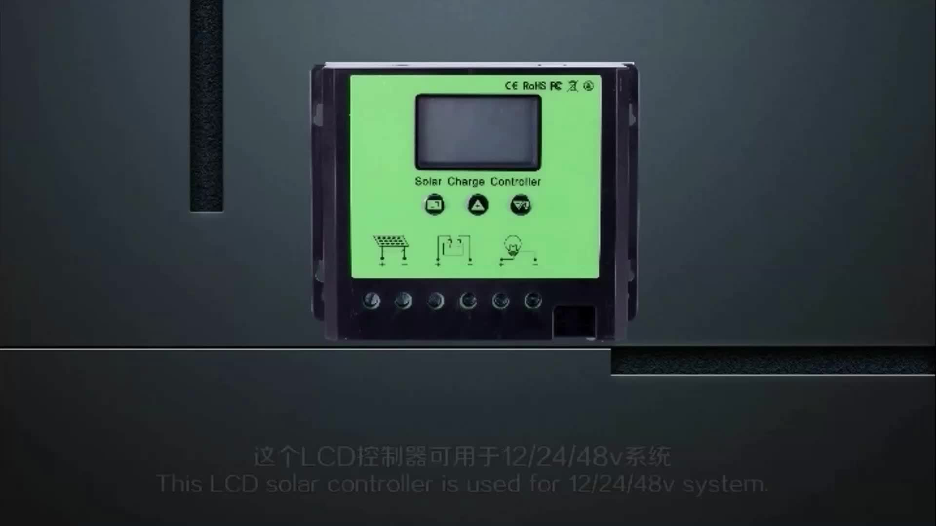 solar charge controller cy1210 manual