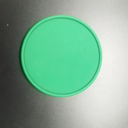 Cheap Silicone Cup Coaster Advertising Silicone Coaster , Drink Coaster for sale
