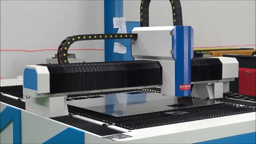 1200w Fiber Laser Cut Metal Shapes , Fiber Laser Sheet Metal Cutting Machine for Stainless Steel