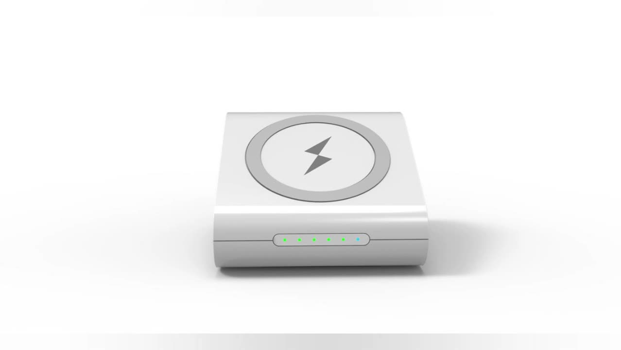 Portable Power Bank 10000 Mah Qi Wireless Charger