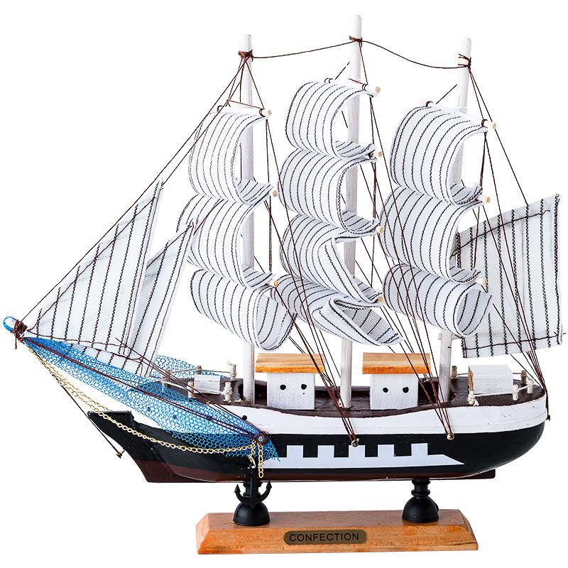 创意家居工艺客厅电视毕业帆船好用吗