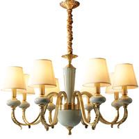 月影美式全屋成套三室两厅客厅吊灯质量怎么样