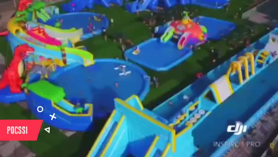 Super Fun 80 Degree Leap Big Floating Inflatable Iceberg for Climbing and Slide