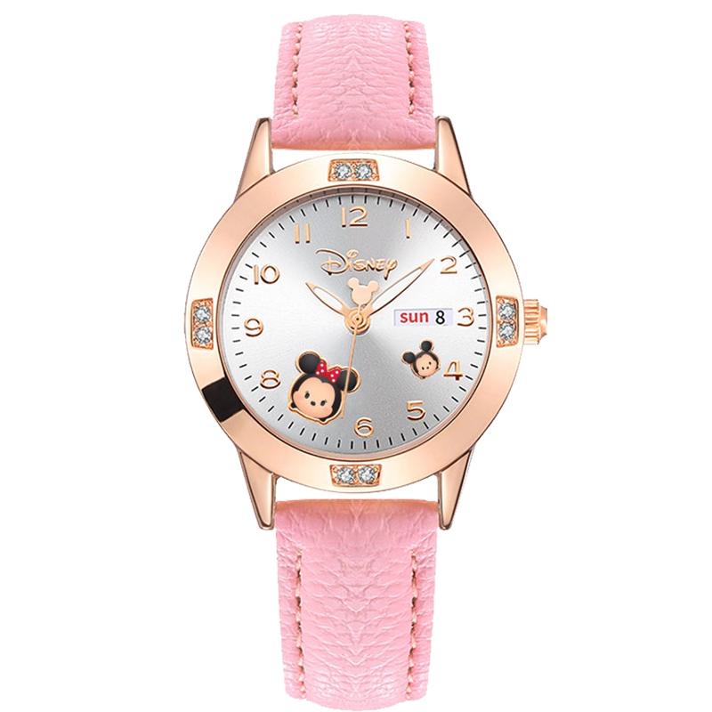 正港迪士尼女孩儿童防水指针式手表好用吗
