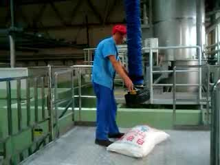 Capacity 50kg vacuum lifter for bag stacking
