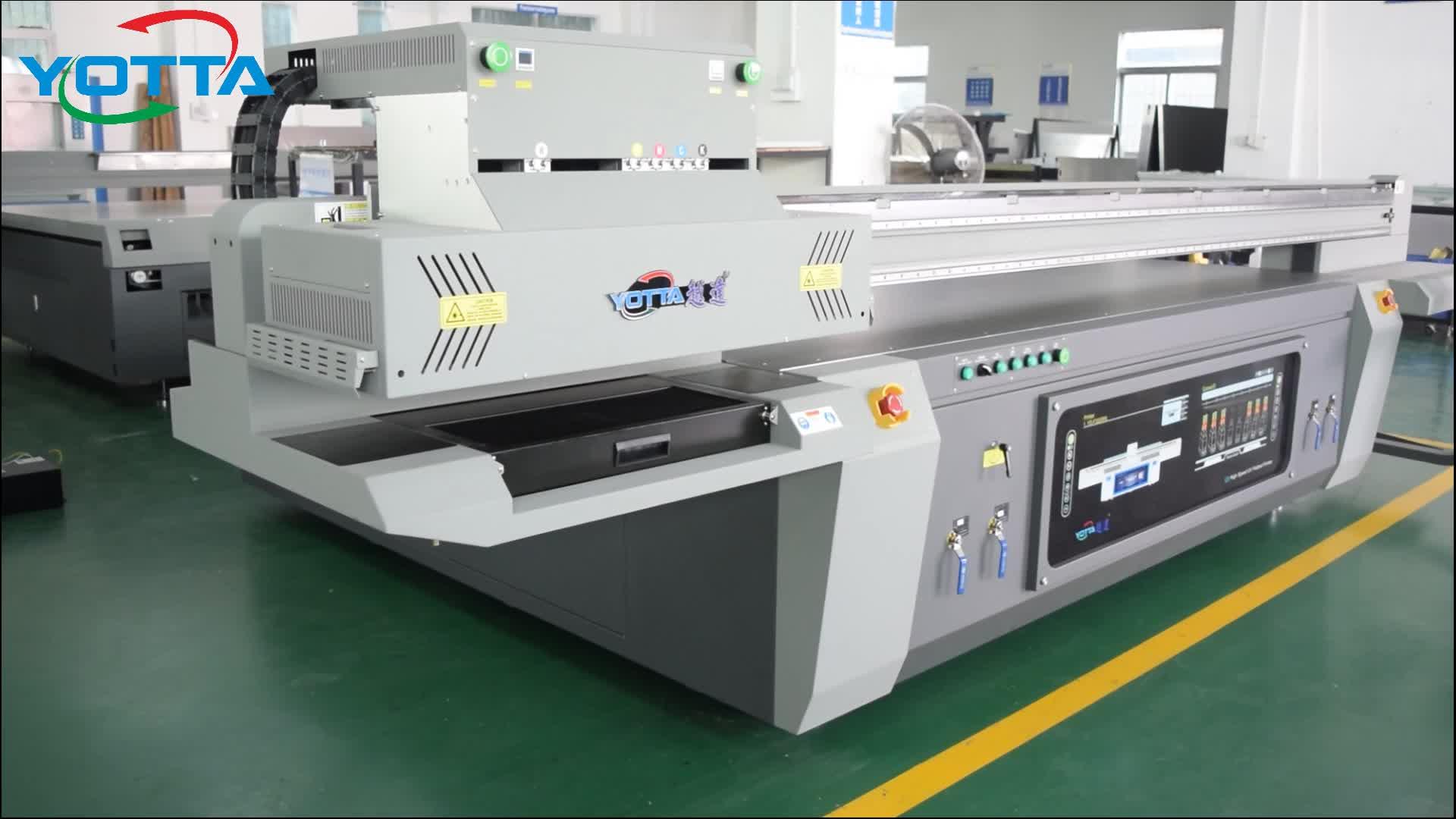 Yotta UV Inkjet Led Printer/Grootformaat UV Flatbed Printer