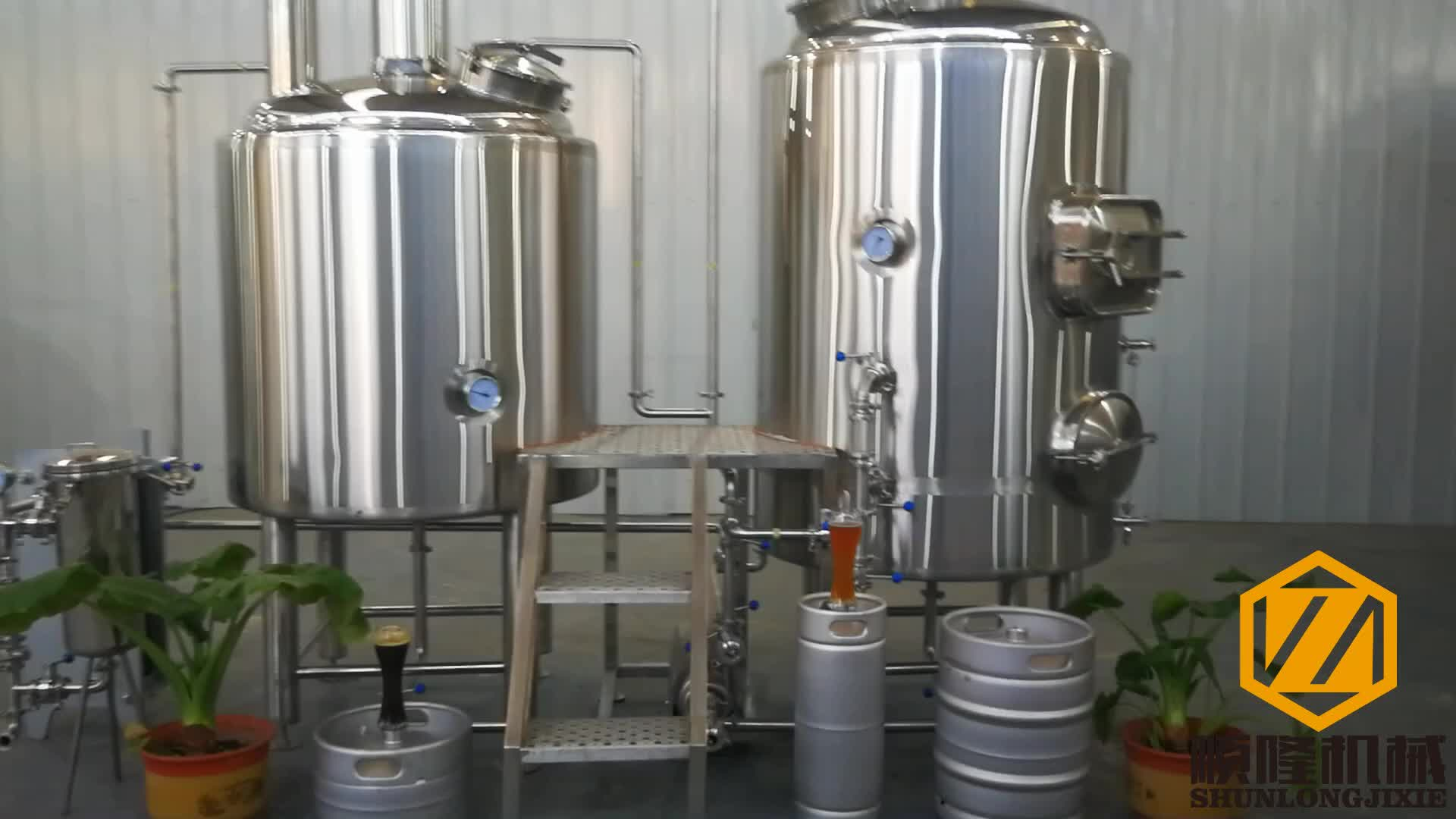 Small pub brewery equipment 300L micro beer brewing microbrewery equipment for sale