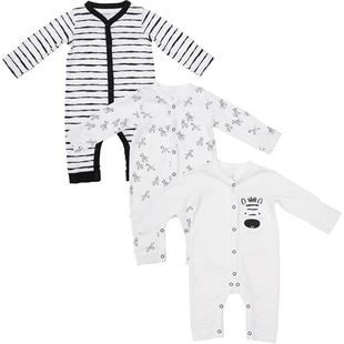 mothercare婴儿长袖连体衣3件