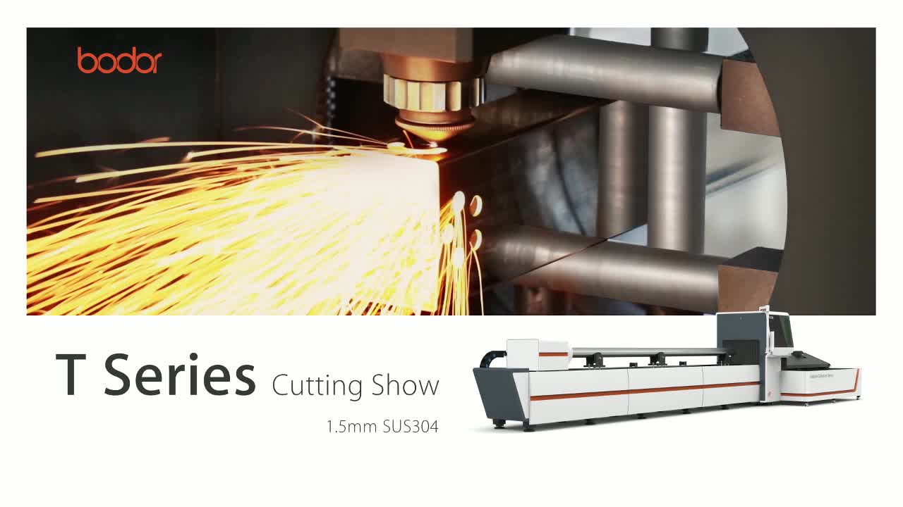 3 years warranty tube pipe fiber laser cutting machine from China with high quality