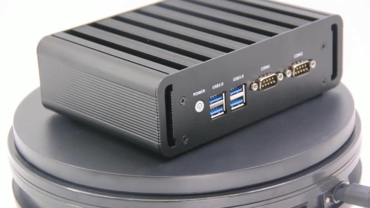 Highly Performance industrial computer Intel i3 5005U Dual-core 2.0Ghz ITX motherboard Barebone PC RS-232 serial connection