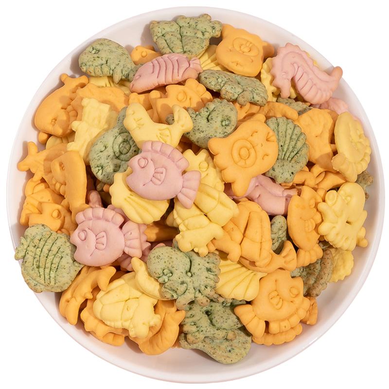 营养动物饼干小包装无添加孕妇品糖