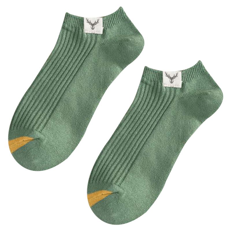 袜子男潮纯棉短袜船袜短筒男士学生日系秋冬防臭吸汗低帮运动浅口