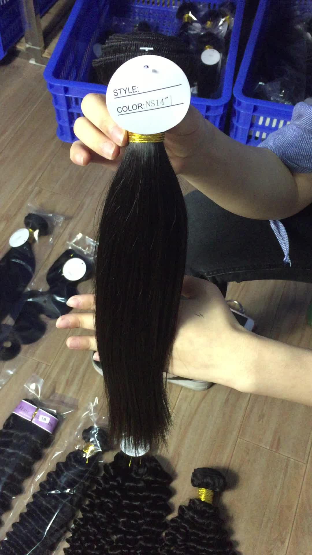 100% Virgin Human Hair Extension,100% Brazilian Straight Hair