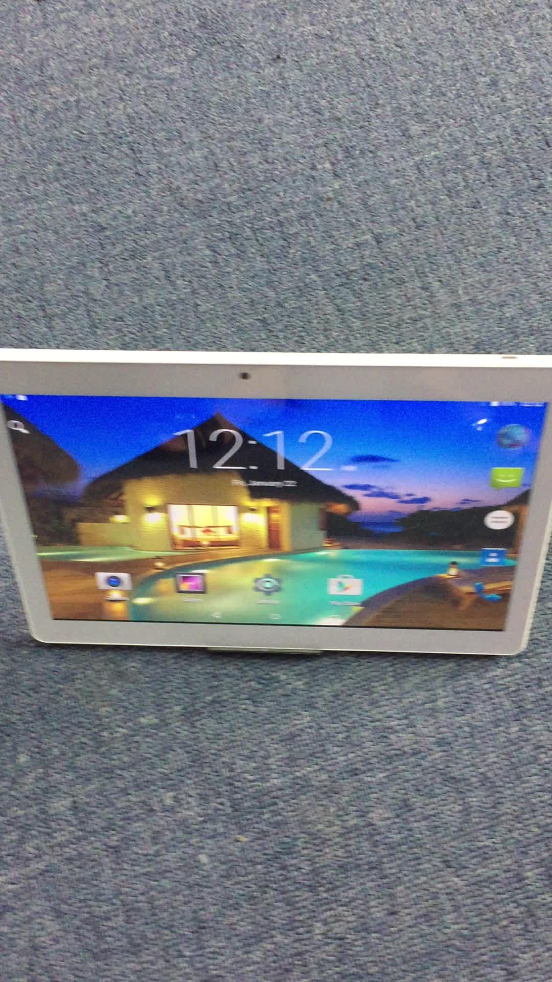 3G Android PC Tablet GPS BT 2 SIM Kartlı 10 inç Telefon