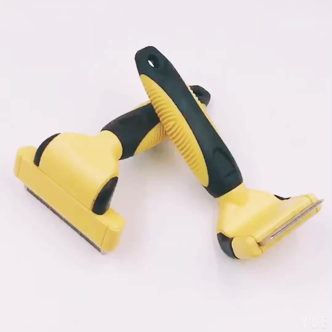 Deshedding Tool For Dogs,Pet Deshedding Brush
