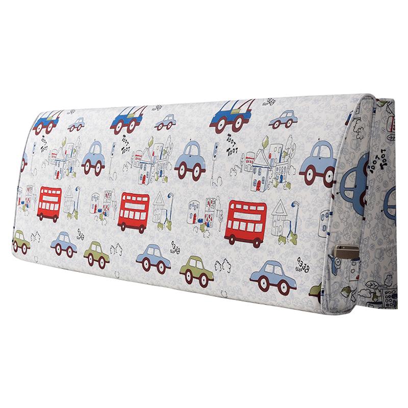 梦罗斓床头大床头板软包套罩靠背垫质量好不好