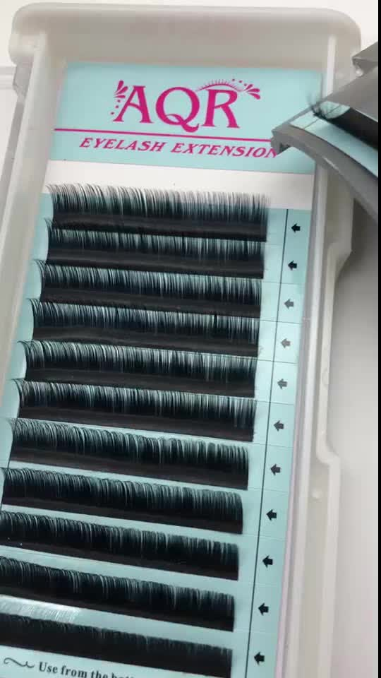 Popular beauty supply natural looking soft silk lash eyelash extensions price