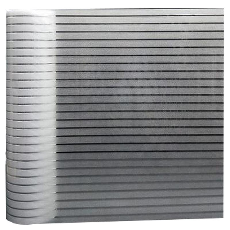 办公室玻璃隔断防撞条磨砂玻璃贴纸使用评测