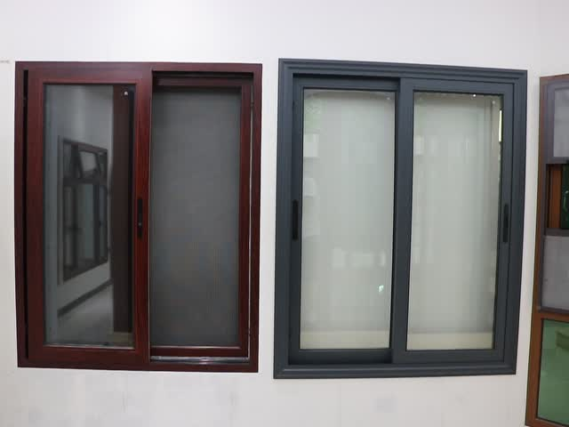 Chinese small aluminum sliding window price in philippines for Aluminum sliding glass doors price