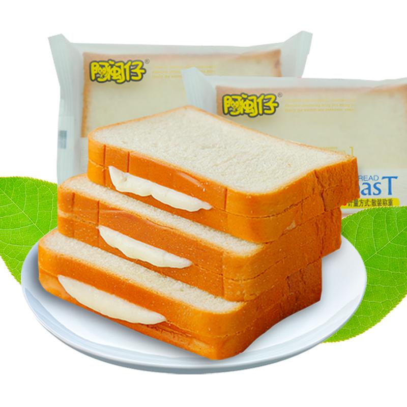 阿闽仔乳酸菌切片吐司面包整箱蛋糕