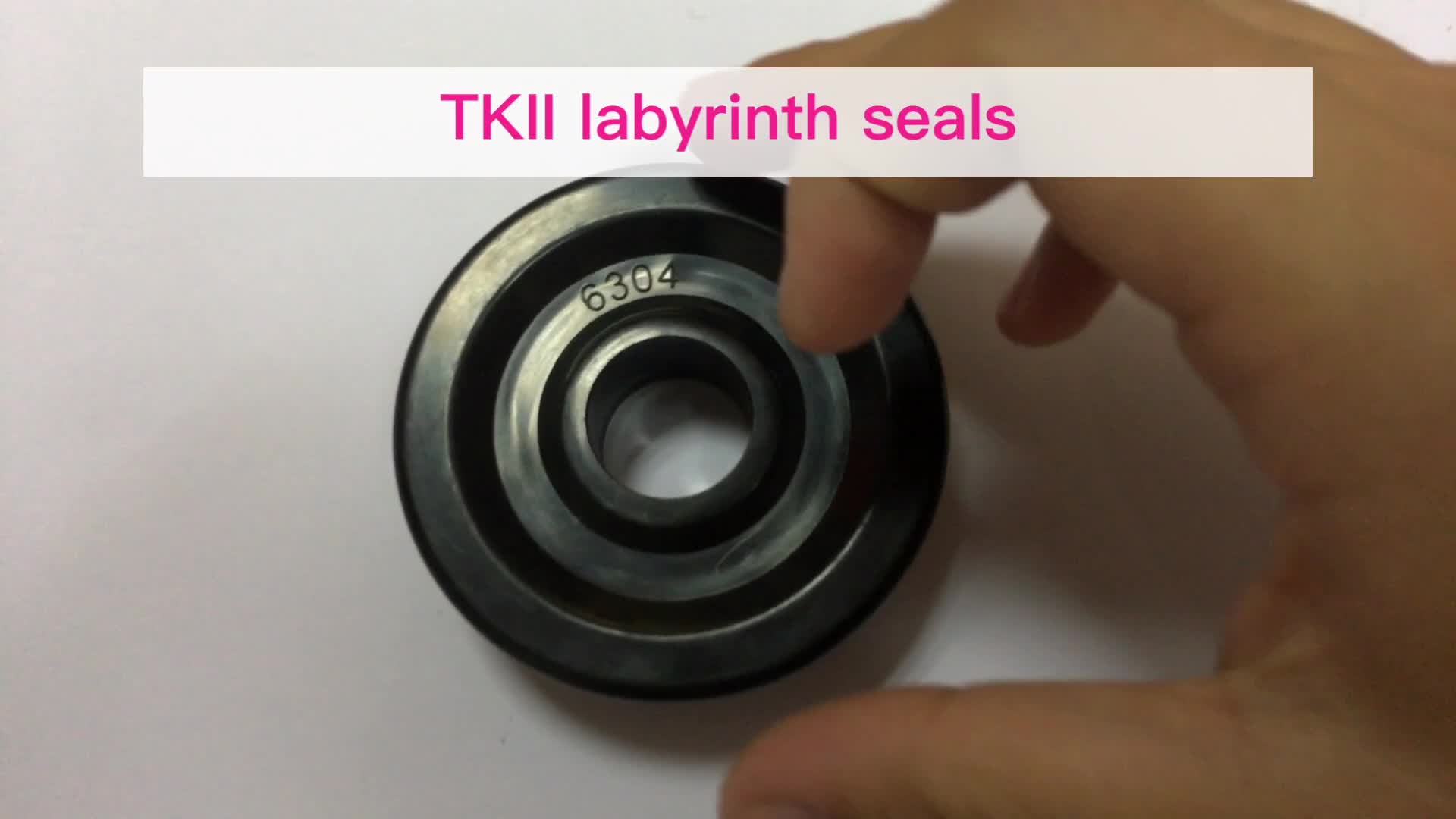 injection molding plastic TK2 labyrinth seal bearing seal