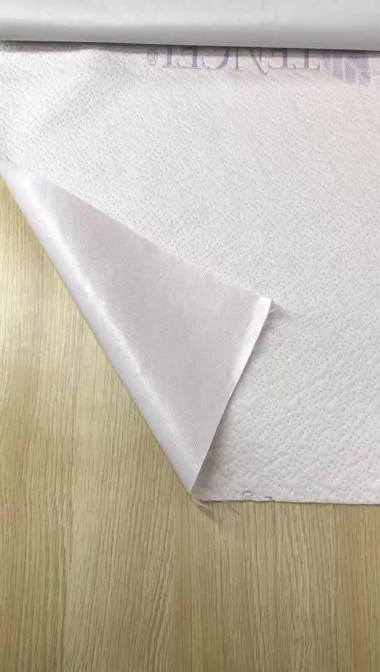 Tencel Jacquard TPU Waterproof Laminated Fabric for Home Textile Mattress Protector Cover
