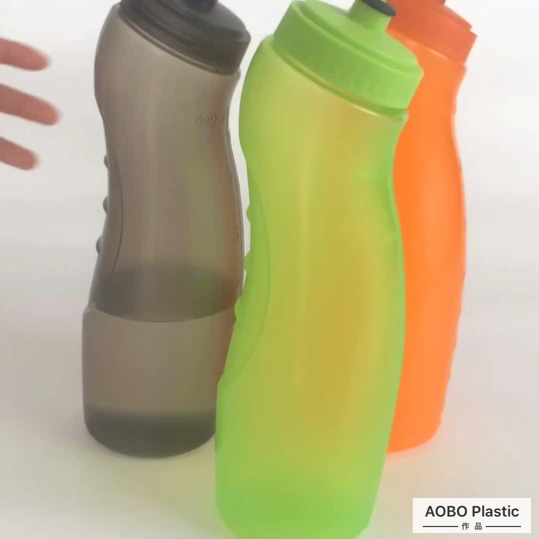 Nuovo design PP 1 L litro la migliore vendita della palestra di sport bere bottiglia di acqua fitness shaker con beccuccio coperchio