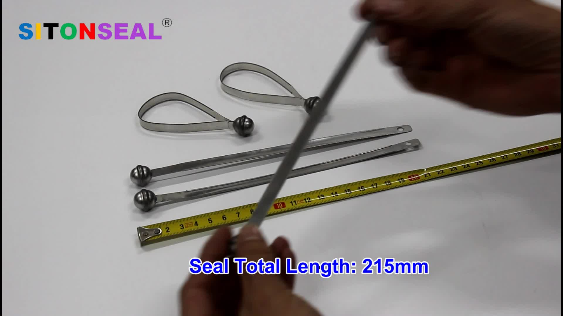 Tinplate Steel Strap Seal for Bank