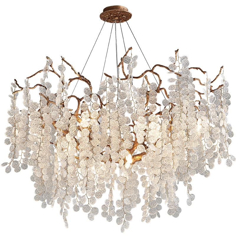 艺术范轻奢客厅餐厅卧室水晶吊灯怎么样