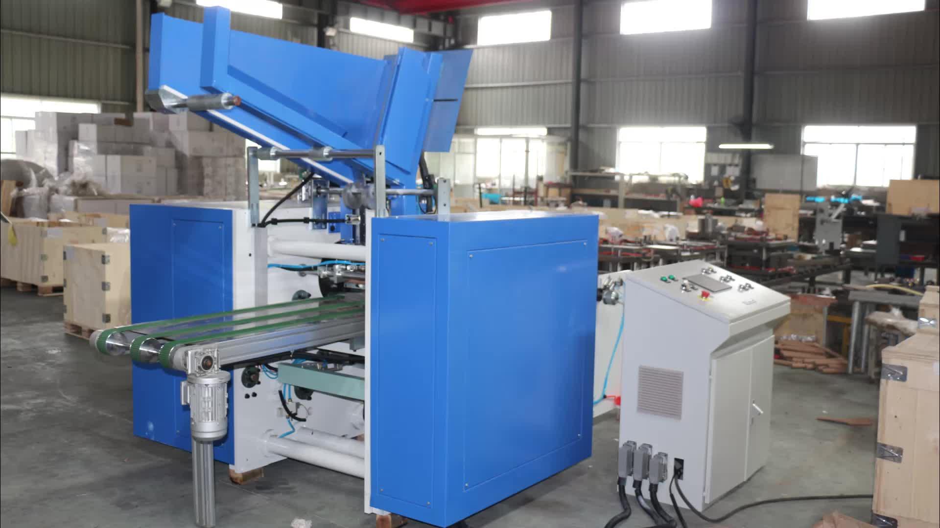Automatische aluminiumfolie rolling machine met CE certificaat