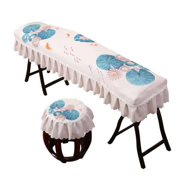 印花古典中国风卡通古筝罩儿童敦煌古筝通用防尘罩盖布盖巾163型