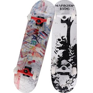 玛克拓普滑板四轮双翘成人滑板车