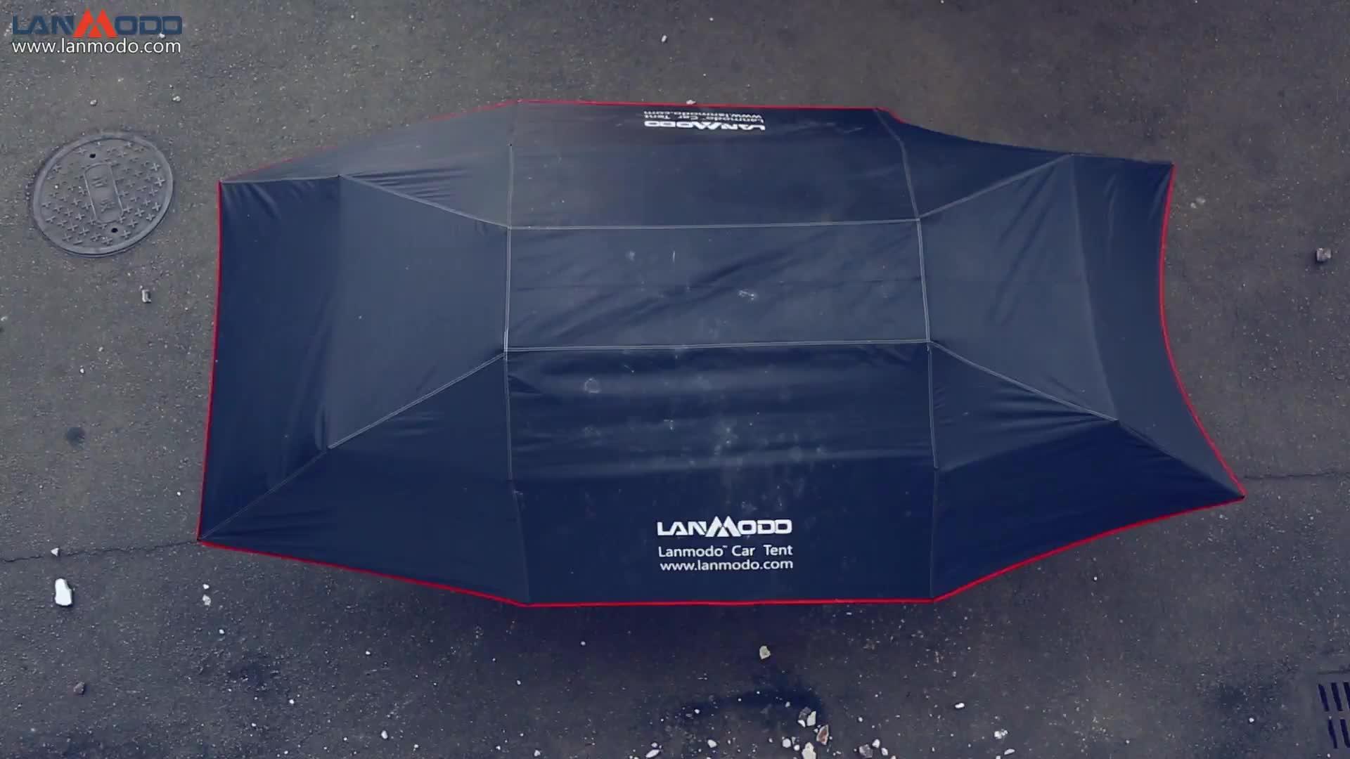 Patentinhaber Lanmodo Automatisches Autodachzelt Zelt