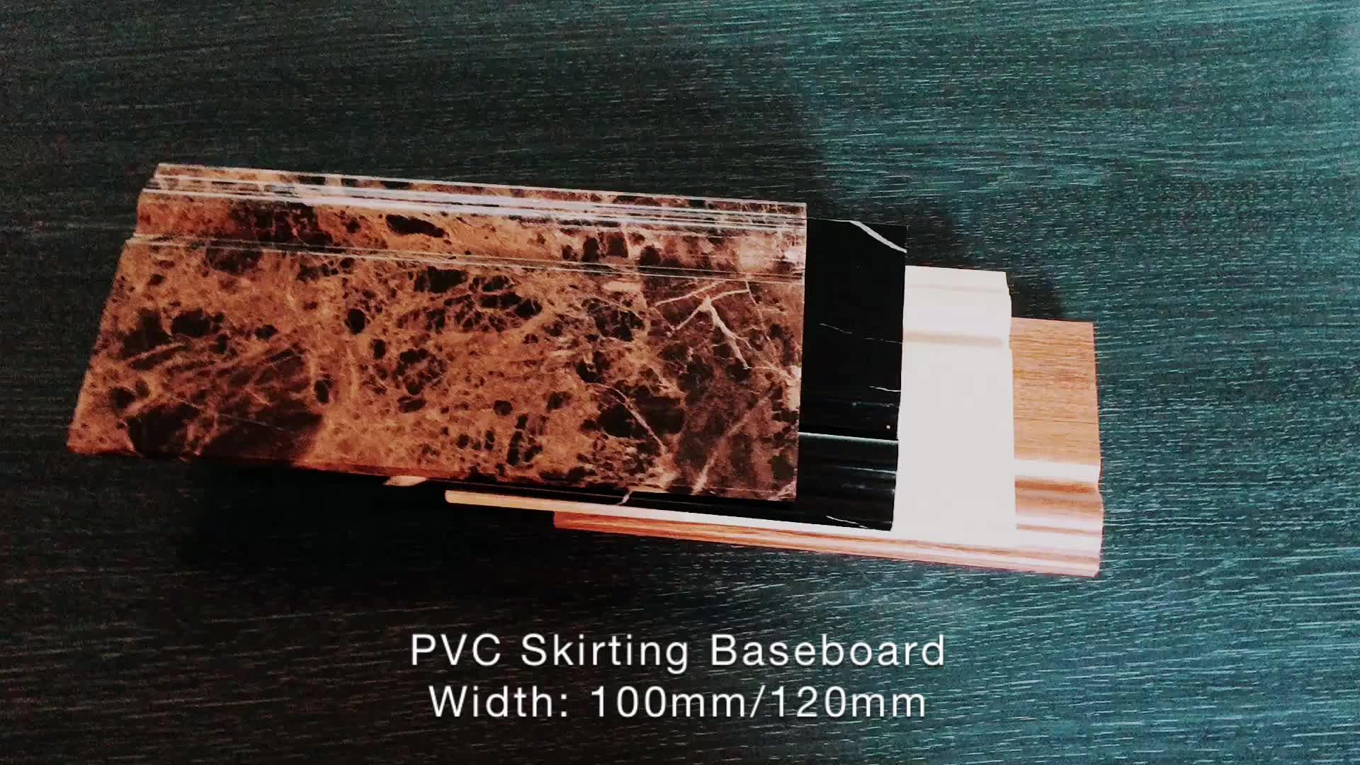 100mm Floor Baseboard Pvc Skirting Board Manufacture Buy