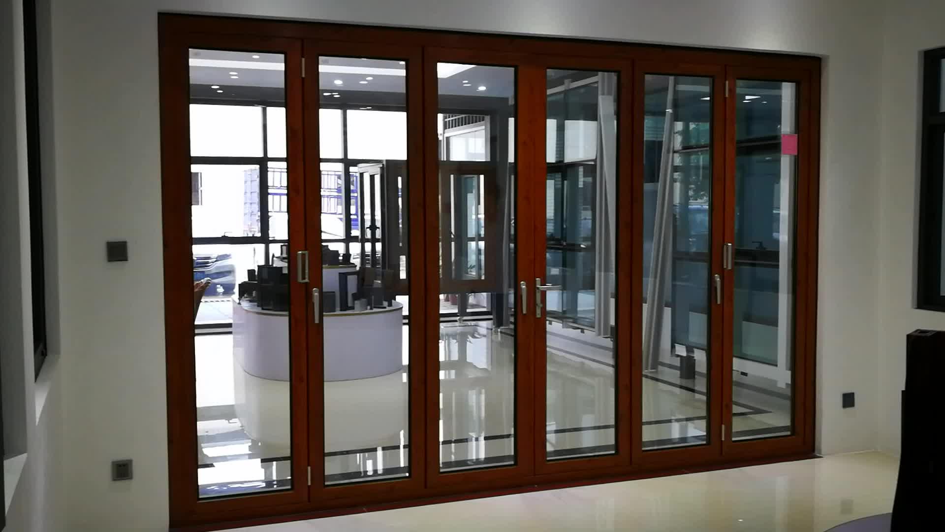 Folding Door Sound : Hot sale sound proof wood folding interior doors buy