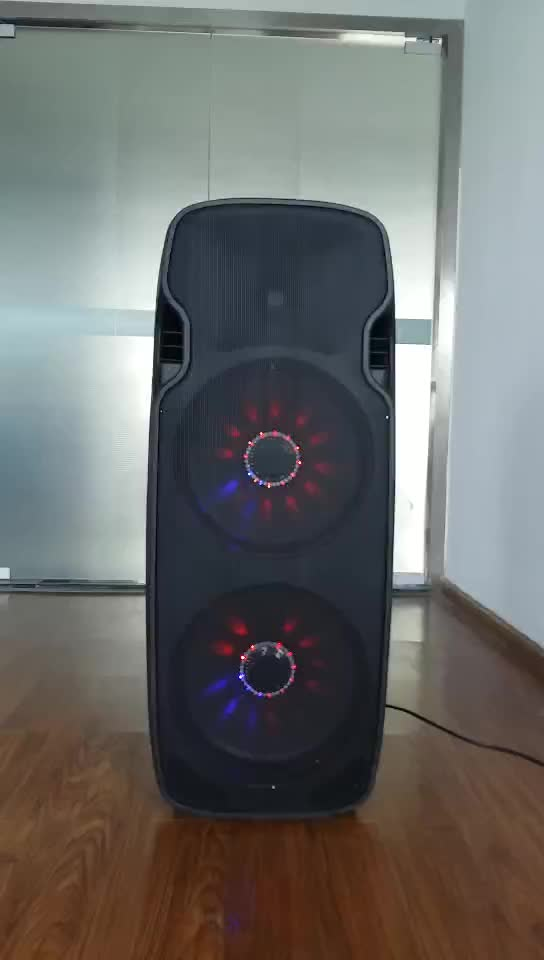 dual 15 inch professional active outdoor dj speakers box with usb sd fm bt with 1pcs wireless. Black Bedroom Furniture Sets. Home Design Ideas