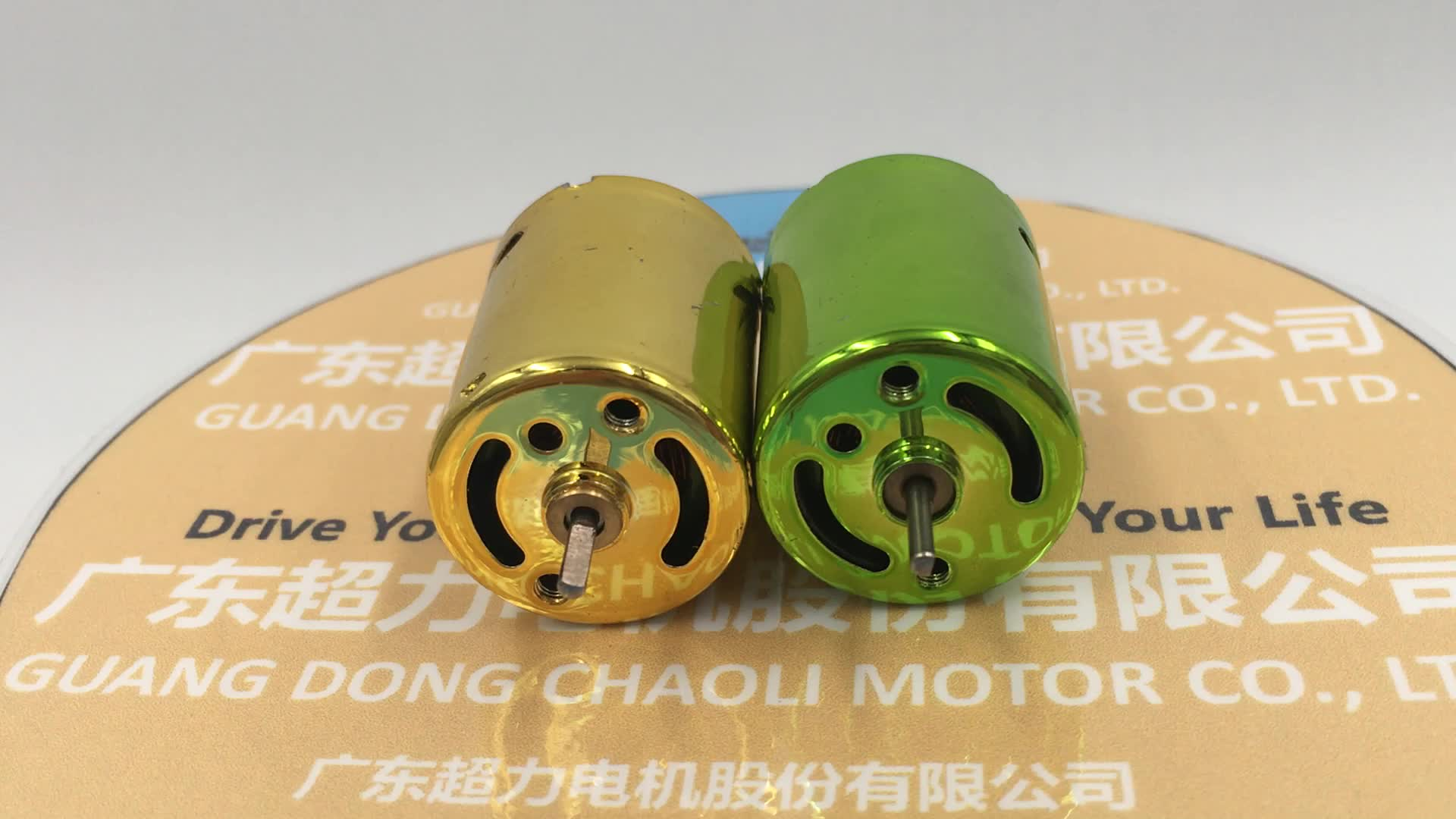 12V High Power DC Motor CL-RK370SD With Nickel Plating For Intelligence Product And Creative Toy