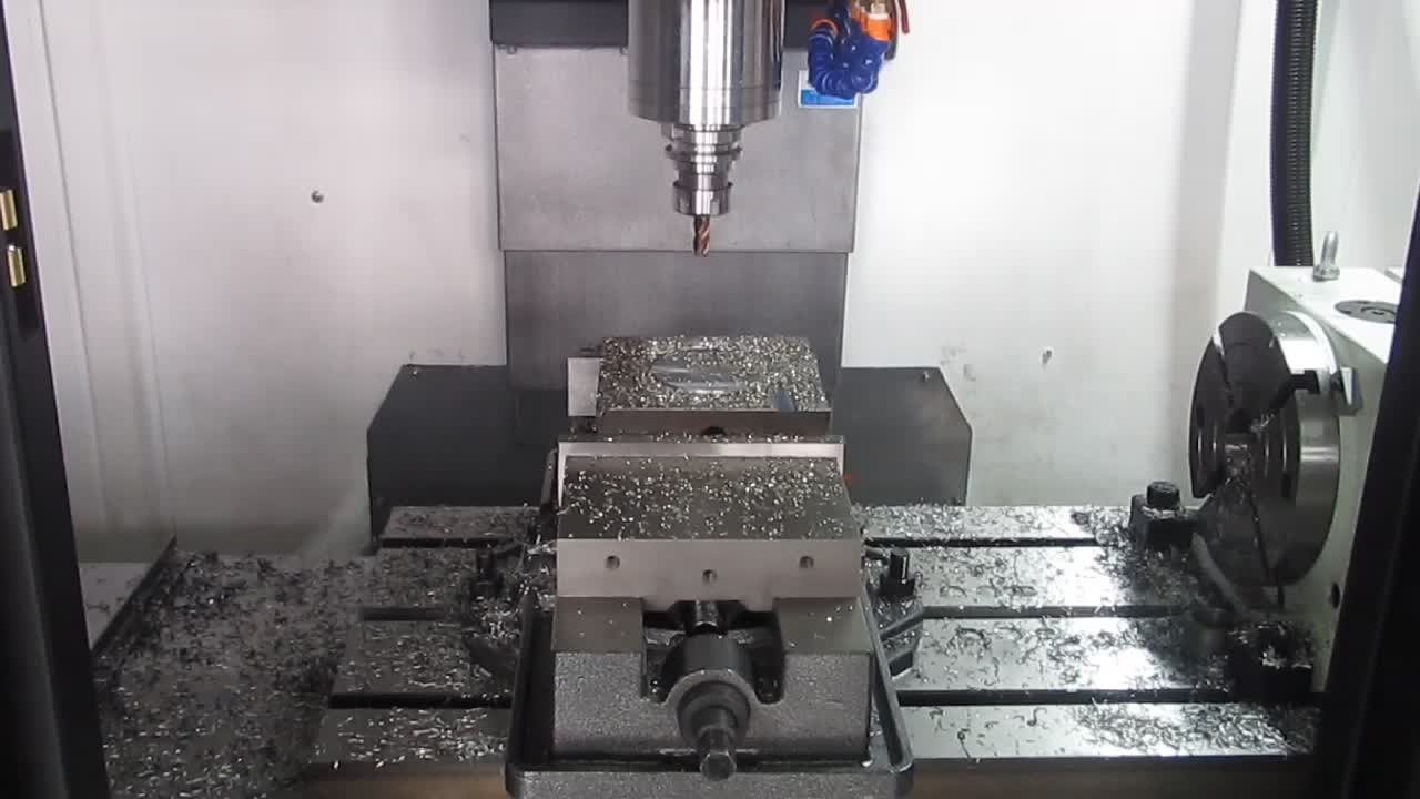 VMC850 China factory cnc milling machine 5 axis for making mold
